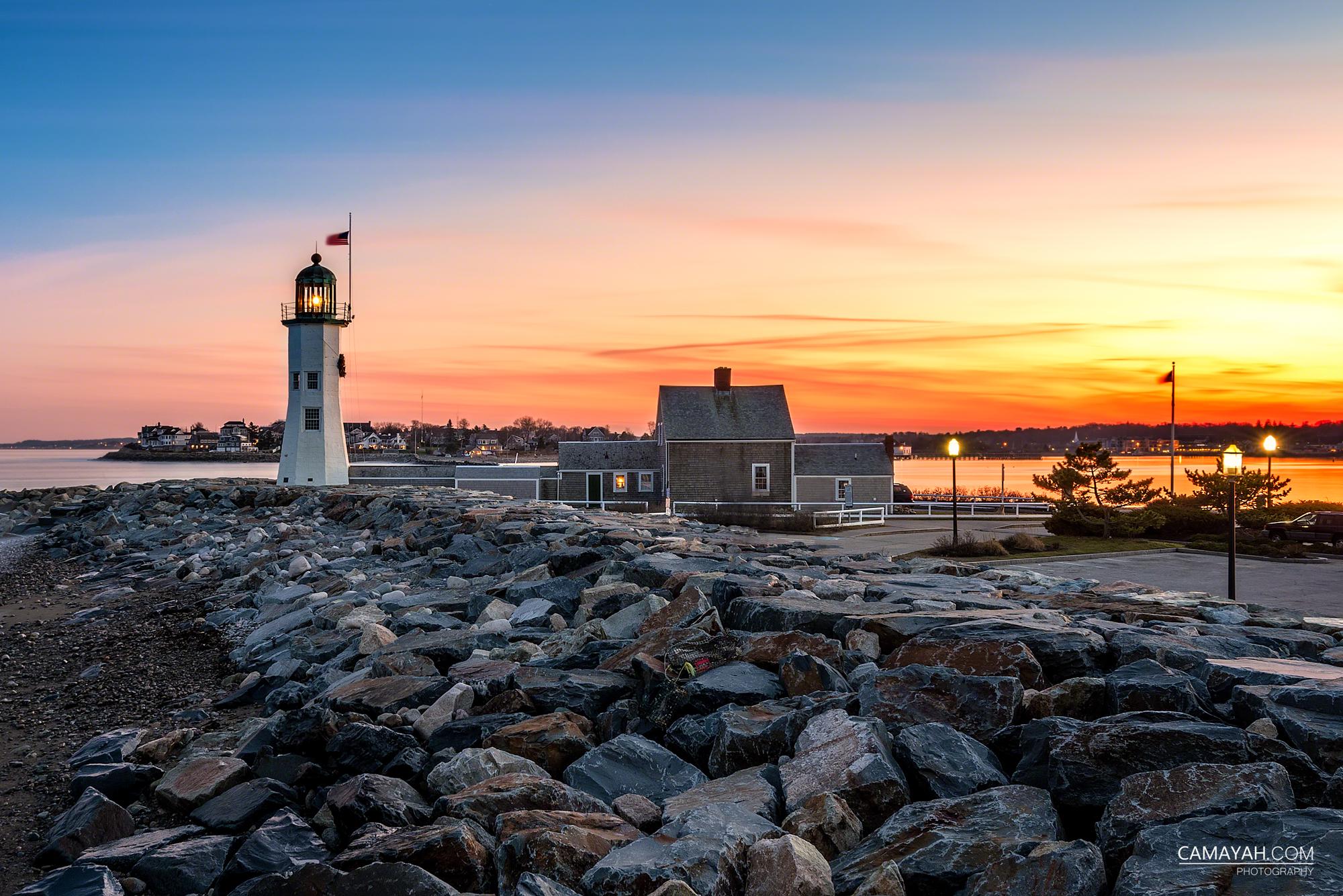 new england lighthouses camayah photography