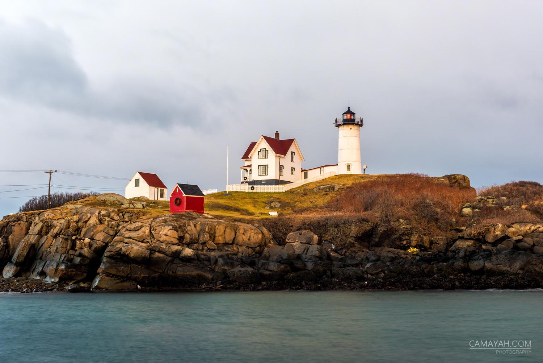 Nubble Lighthouse Awakening Storm